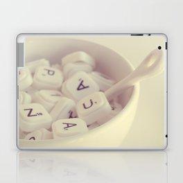 sopa de letras Laptop & iPad Skin