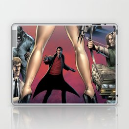 Dracula vs. Robin Hood vs. Jekyll & Hyde Laptop & iPad Skin