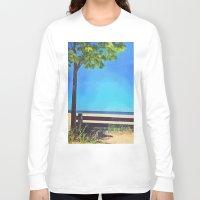 michigan Long Sleeve T-shirts featuring Lake Michigan by Litew8
