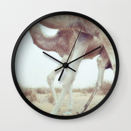 Swaying and Swaggering Across the Sahara  Wall Clock