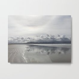 Inch Strand beach in Ireland Metal Print