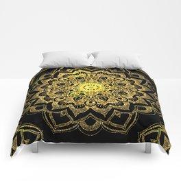 Golden Darkness Comforters