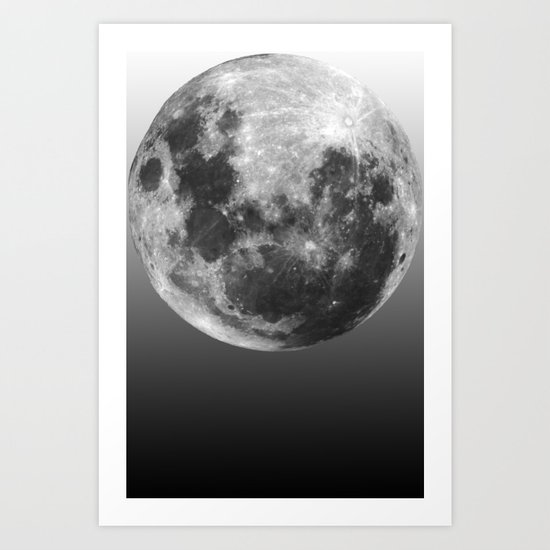 Moon Love Art Print