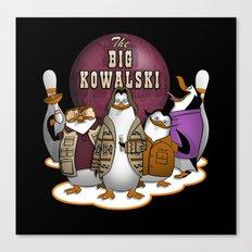 The Big Kowalski Canvas Print