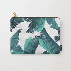 Banana Teal Carry-All Pouch