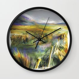 Approaching Rain - Achill Island - Ireland Wall Clock
