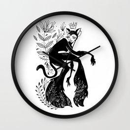 The Cat Kitten Queen Wall Clock