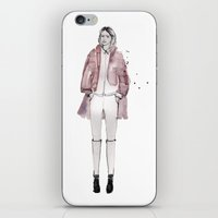 sarah paulson iPhone & iPod Skins featuring Sarah by Lebats
