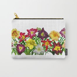 Display of daylilies I Carry-All Pouch