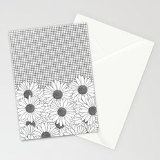 Daisy Grid Stationery Cards