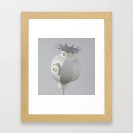 Poppy House Framed Art Print
