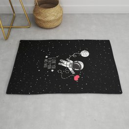 I love to The Moon and Back Rug
