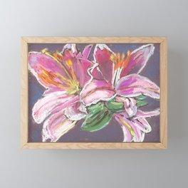 Vibrant Lily Framed Mini Art Print