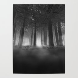 Soul of the Forest B&W Poster