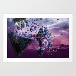 Eldrazi Cataclysm  Art Print