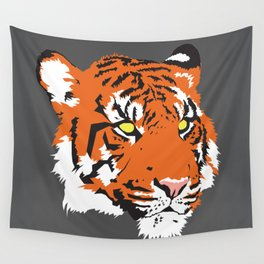 Tiger Face Wall Tapestry