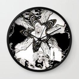 Gaze Wall Clock