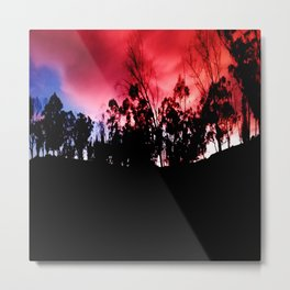 Intense mountain. Metal Print