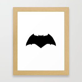 Bat Knight 3 Framed Art Print