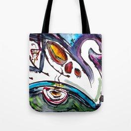 Intergalactic Swan Tote Bag