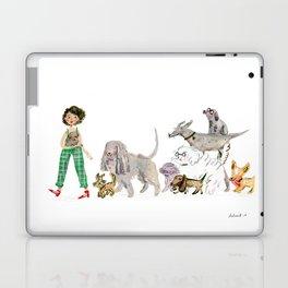 Doggy happiness Laptop & iPad Skin