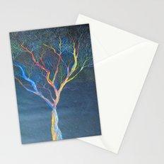 Rainbow Trees Stationery Cards
