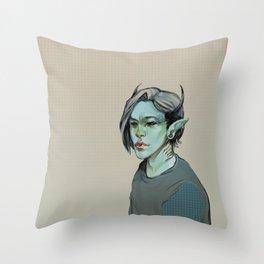 Monster #2 Throw Pillow