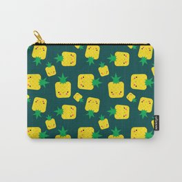 Stay Well Kawaii Pineapple Illustration Carry-All Pouch