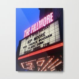 The Fillmore Metal Print