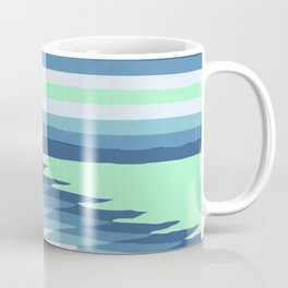 MINT SURF GIRL Coffee Mug