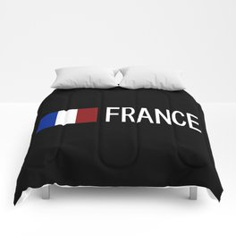 France: French Flag & France Comforters