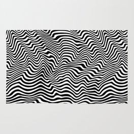 Op Art Stripes Rug