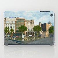 barcelona iPad Cases featuring Barcelona by Liesl Marelli