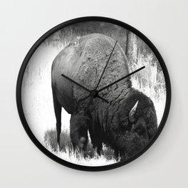 A Wild Guy Wall Clock