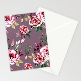 Lisianthus Pattern II Stationery Cards