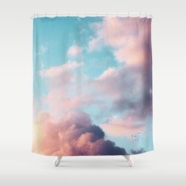 Clouds Paradise Shower Curtain