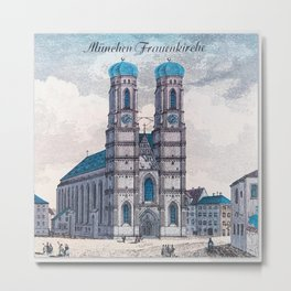 München Frauenkirche Metal Print