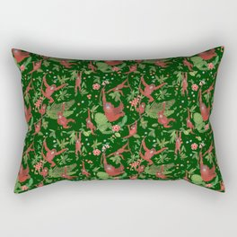 Orangutans in the Jungle Rectangular Pillow