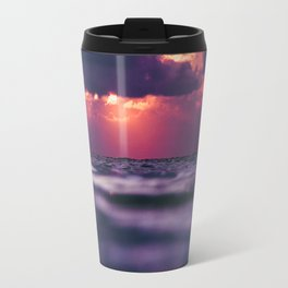 Maldivian sunset 8 Travel Mug