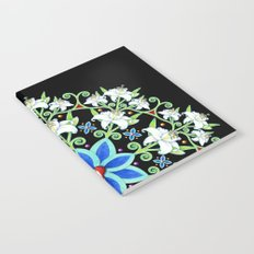 Folkloric Flower Crown Notebook