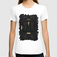 221b T-shirts featuring 221b Baker Street by Andrian Kembara