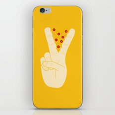 Peace-za iPhone & iPod Skin