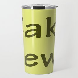 Cake News - Allusion to May in Salzburg Travel Mug