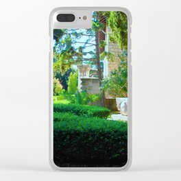 Picturesque Shaded Courtyard in Split Croatia Clear iPhone Case