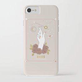 Aries Zodiac Series iPhone Case