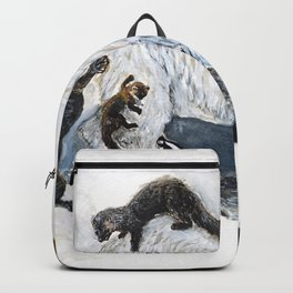 Awesome mustelids Backpack