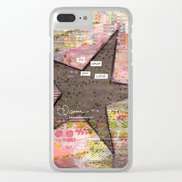 Do What You Love Clear iPhone Case