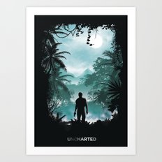 Uncharted Territory Art Print