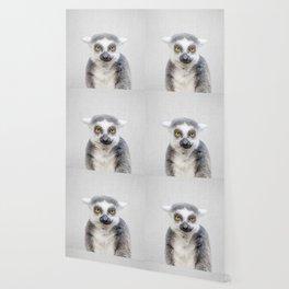 Lemur - Colorful Wallpaper