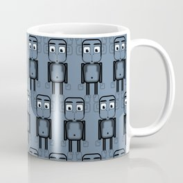 Super cute animals - Cheeky Blue Monkey Coffee Mug
